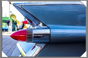 Back to the '50s car cruise in La Mesa, California