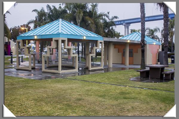 Cesar Chavez Park in San Diego