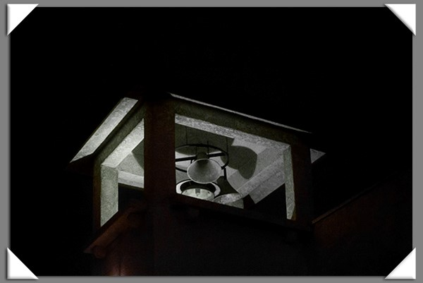 Steeple bells at night