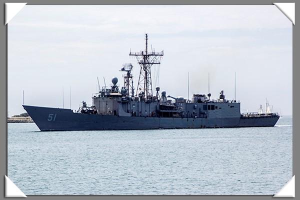 USS Arleigh Burke in San Diego