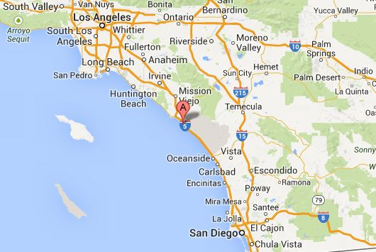 San Clemente map