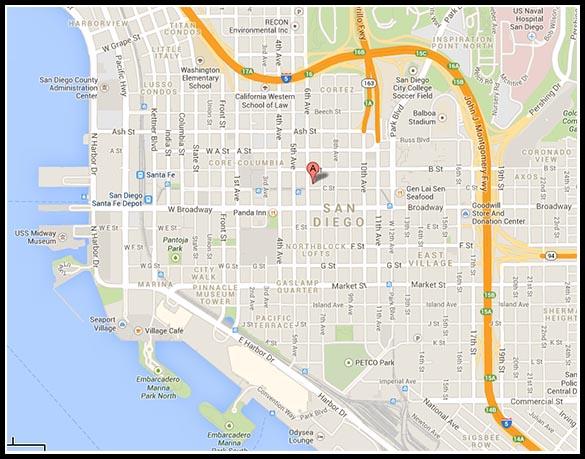 1111 Sixth Avenue map