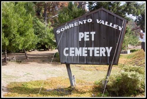 Sorrento Valley Pet Cemetery