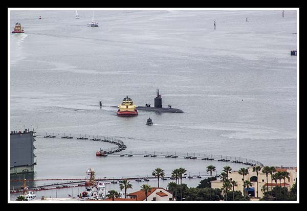 San Diego submarine base