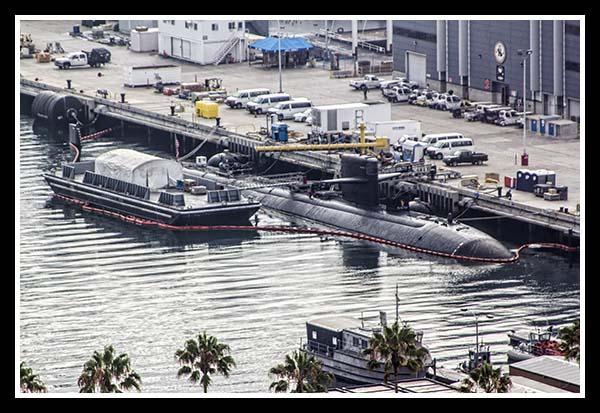 San Diego submarine base