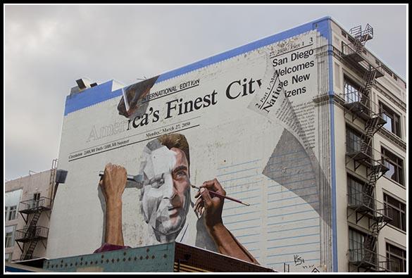 America's Finest City mural