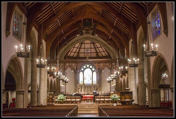 All Saints Episcopal Church in Pasadena, California