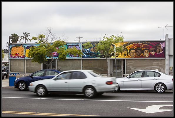 Mural at the Ray Street Art & Culture District in North Park, San Diego