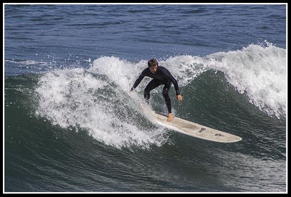 Surfer in San Diego