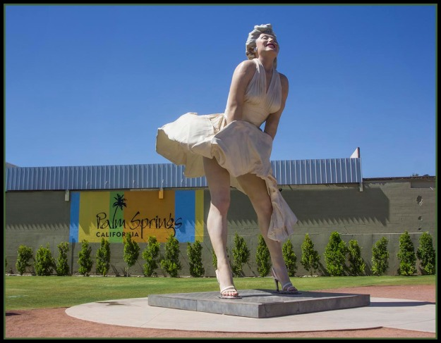 Forever Marilyn in Palm Springs, California