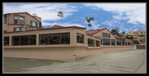 The Marine Room in La Jolla, California