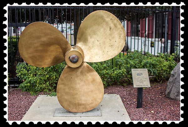 Propeller at United States Coast Guard, Sector San Diego