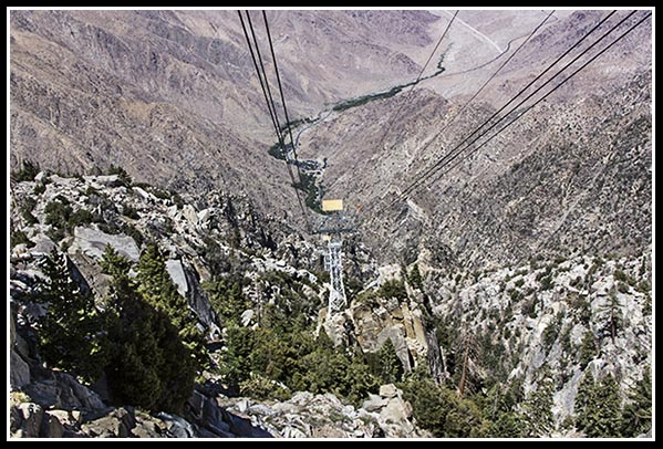 Tram in Palm Springs, California
