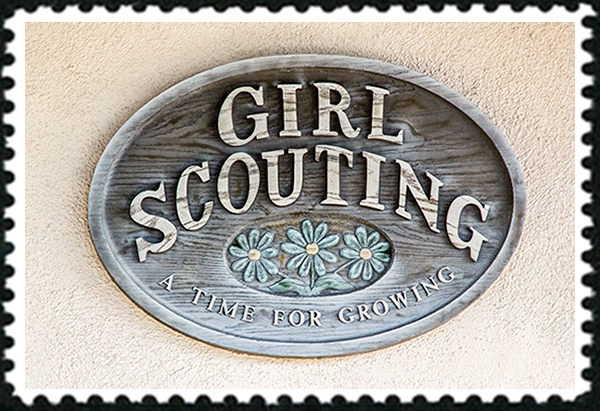 Girl Scouts in Balboa Park in San Diego, California