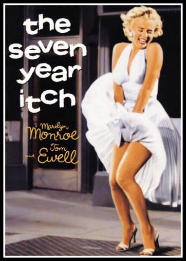 "Marilyn Monroe poster from ""The Seven Year Itch"""
