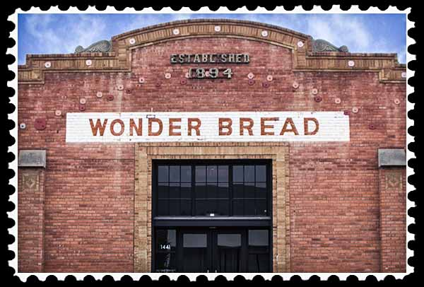 1894 Wonder Bread brick building in San Diego's East Village