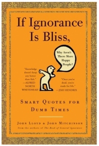 If Ignorance Is Bliss, Why Aren't There More Happy People?