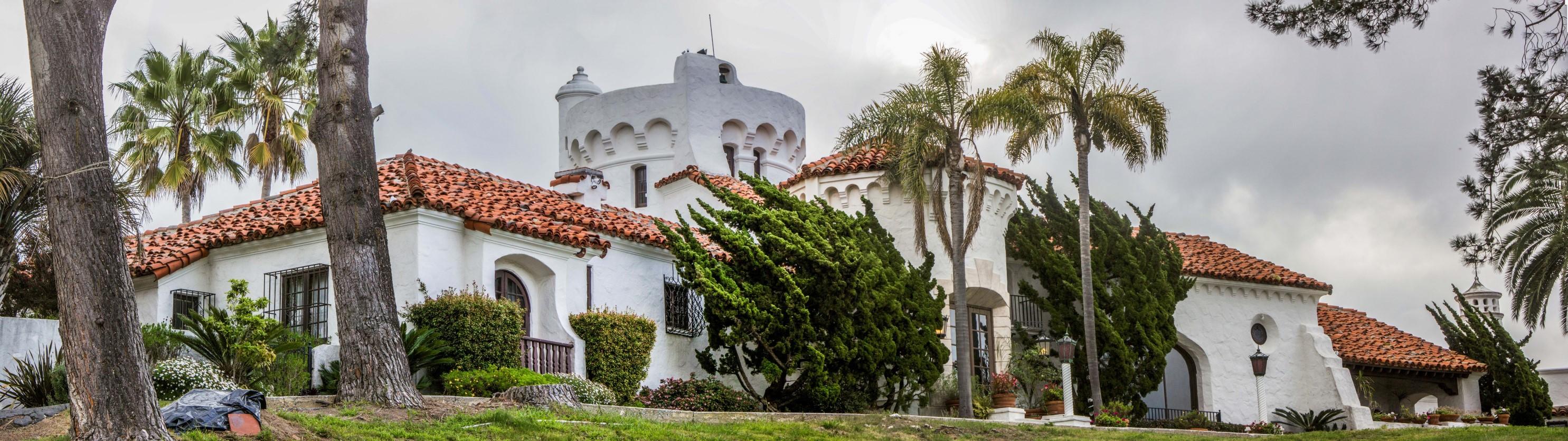 The Del Mar Castle Near San Diego California Russel Ray