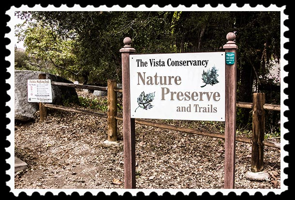 The Vista Conservancy nature Preserve and Trails, Vista, California