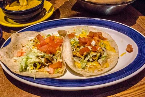 Taco Tuesday at On The Border in El Cajon, California