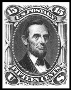 Scott #77 Abraham Lincoln