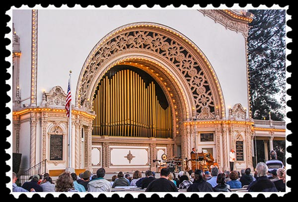 Spreckels Organ concert in San Diego's Balboa Park