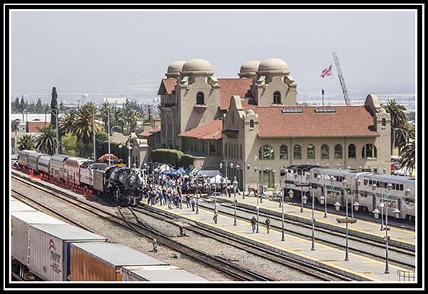 Santa Fe Depot in San Bernardino, California