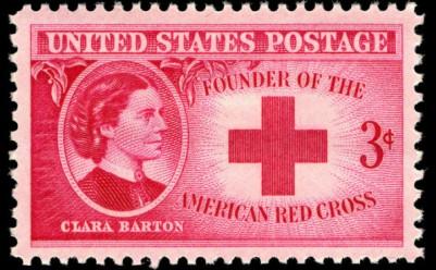 Scott #967 Clara Barton