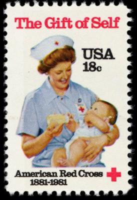 Scott #1910 American Red Cross
