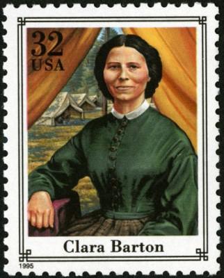 Scott #2975c Clara Barton