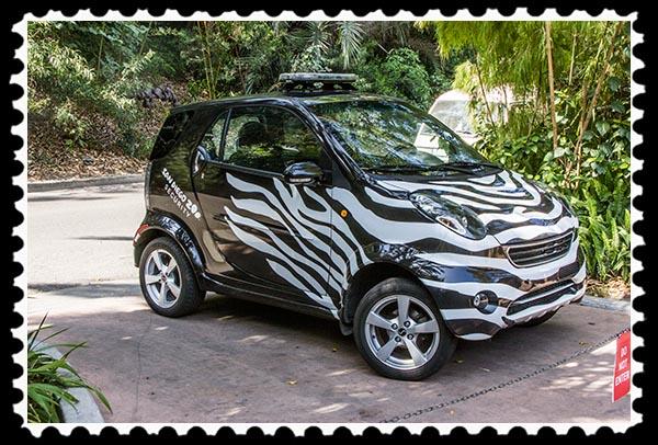 San Diego Zoo security car