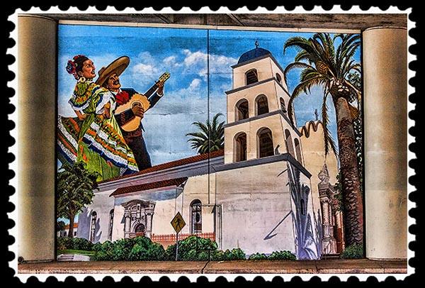 San Diego mural