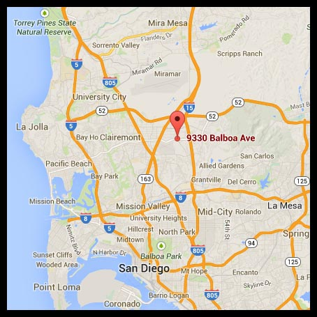 Jack in the Box location map