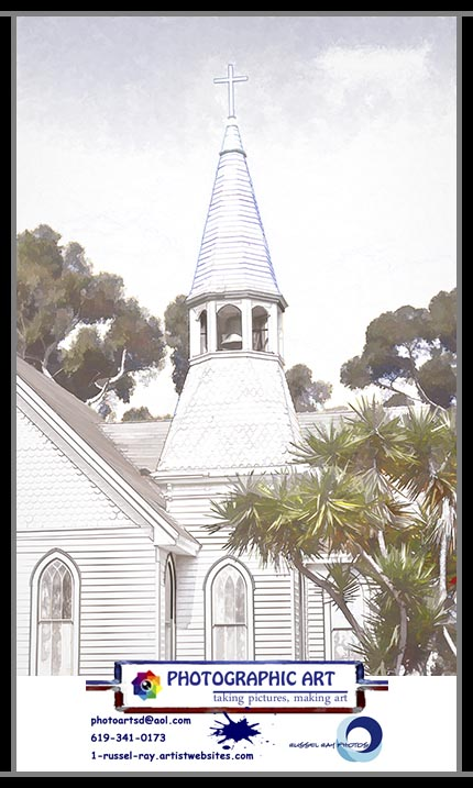 Nestor Methodist Church steeple