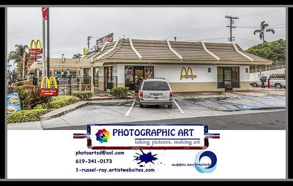 McDonald's in Hillcrest, San Diego, California