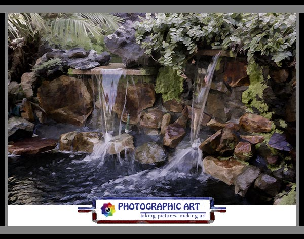 Bird Song waterfall
