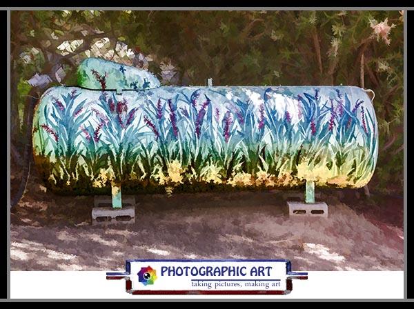 Bird Song propane tank