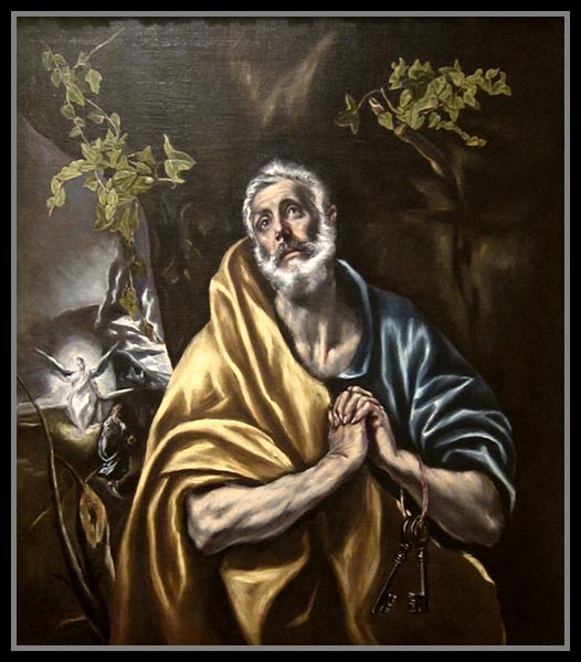 The Penitent St. Peter