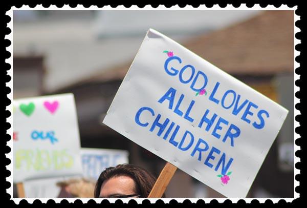 God loves all her children