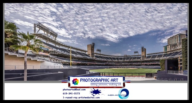Petco Park panorama from center field