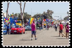 San Diego gay pride parade