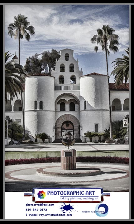 Hepner Hall on the campus of San Diego State University