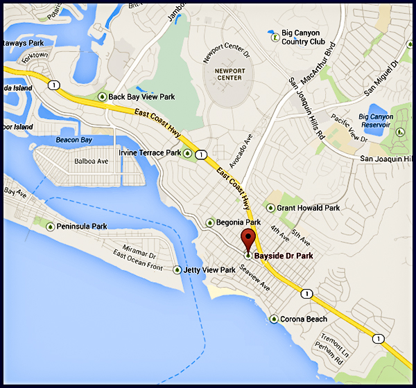 Bayside Drive Park, Newport Beach, California