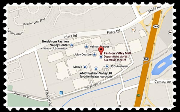 Fashion Valley Mall San Diego Map.Fashion Valley Mall In San Diego Russel Ray Photos