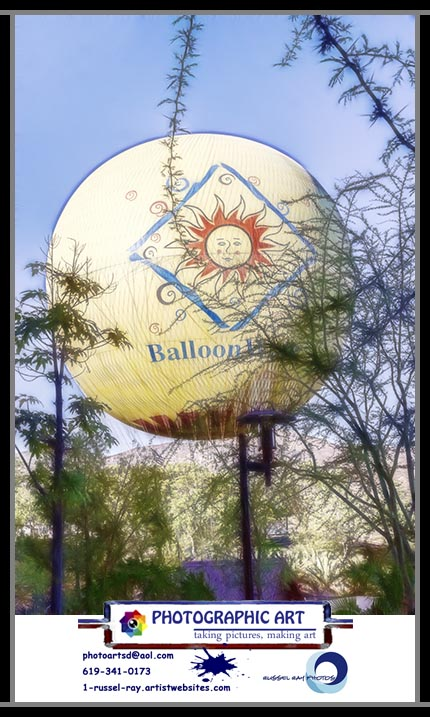 San Diego zoo Safari Park Balloon Ride
