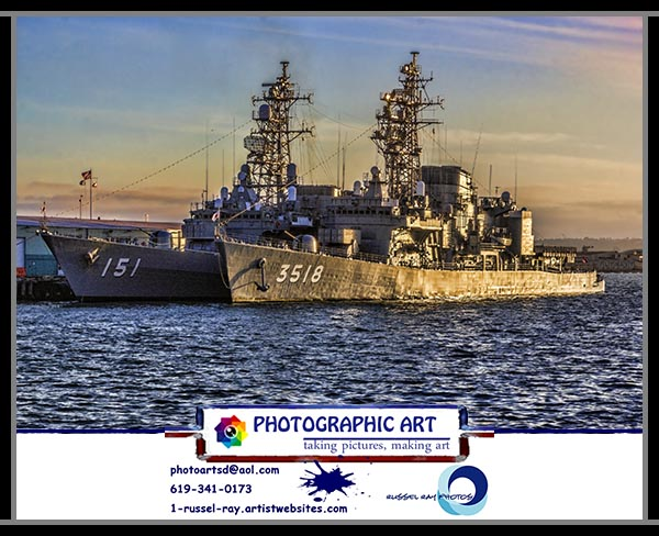Japanese ships in San Diego
