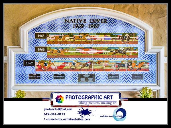 Native Diver mural