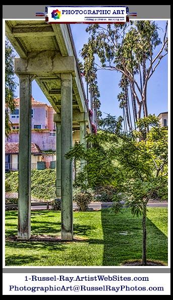 Goldenrod Footbridge Newport Beach California