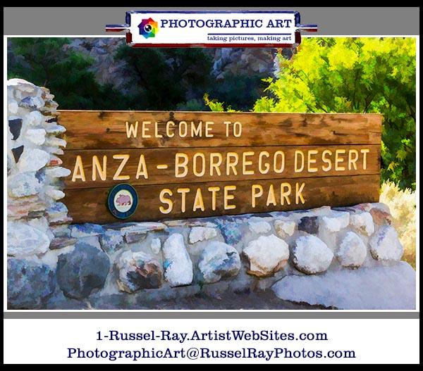 Anza-Borrego State Park in California