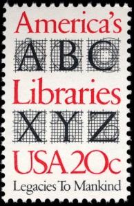 Scott #2015 America's Libraries